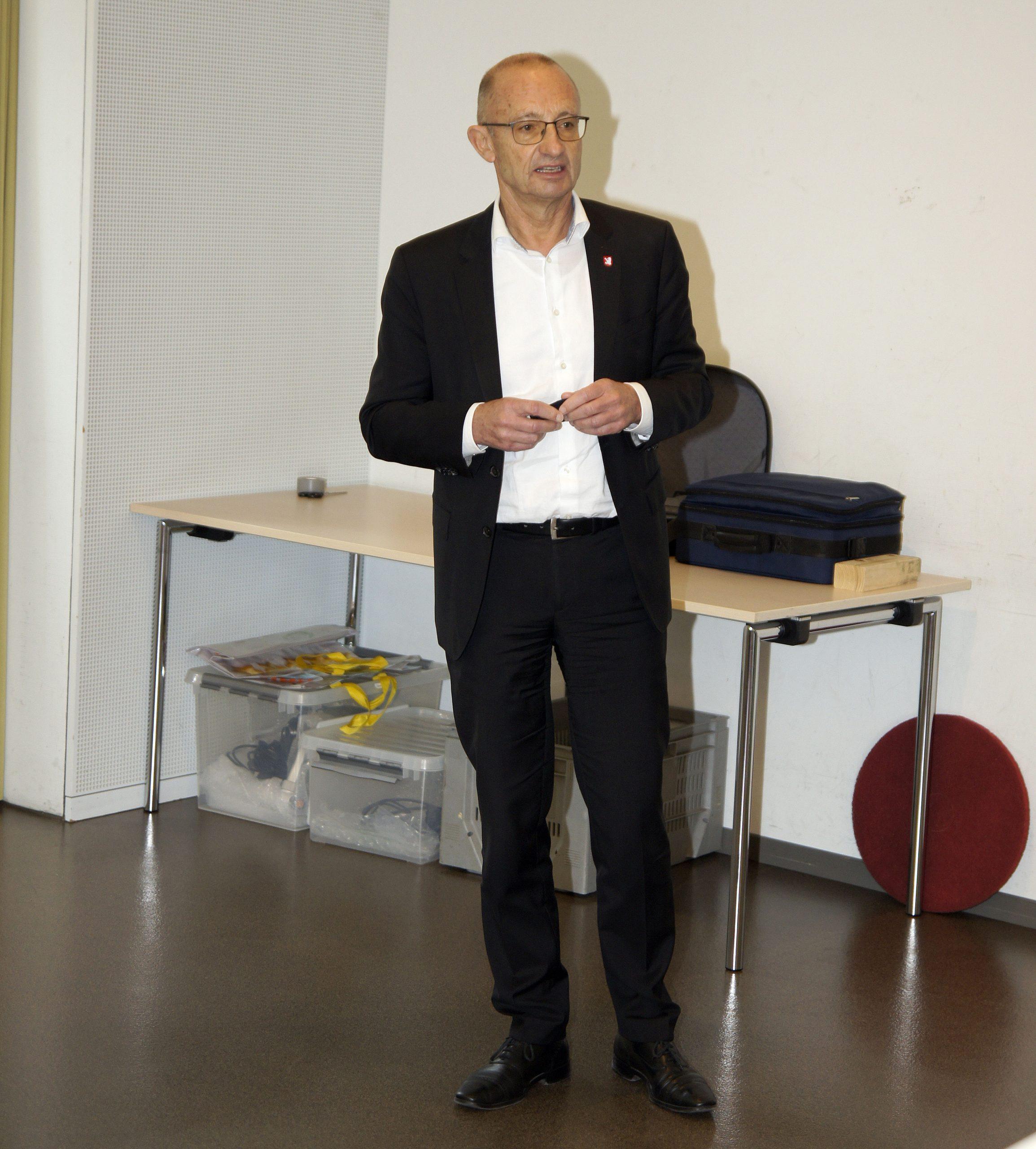René Huber, Ehrenpräsident FRZ